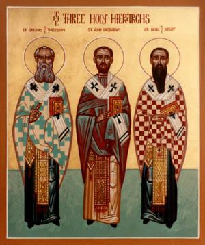 Jan 30 Three Holy Hierarchs
