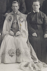 With Father Dydyk, Toronto 1913